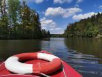 Bootsfahrt am Herrensee